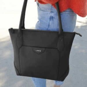 NWOT Lodis Siera Tote Bag in Black Leather